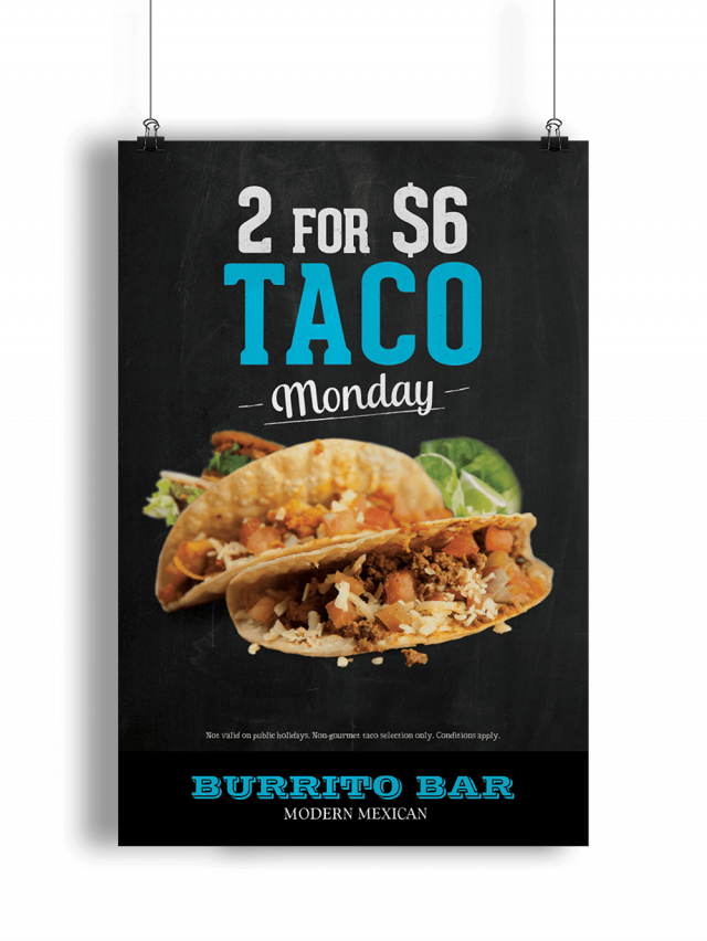 The Burrito Bar - Taco Monday