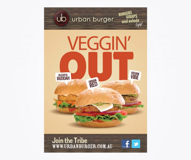 Urban burger - Flyer