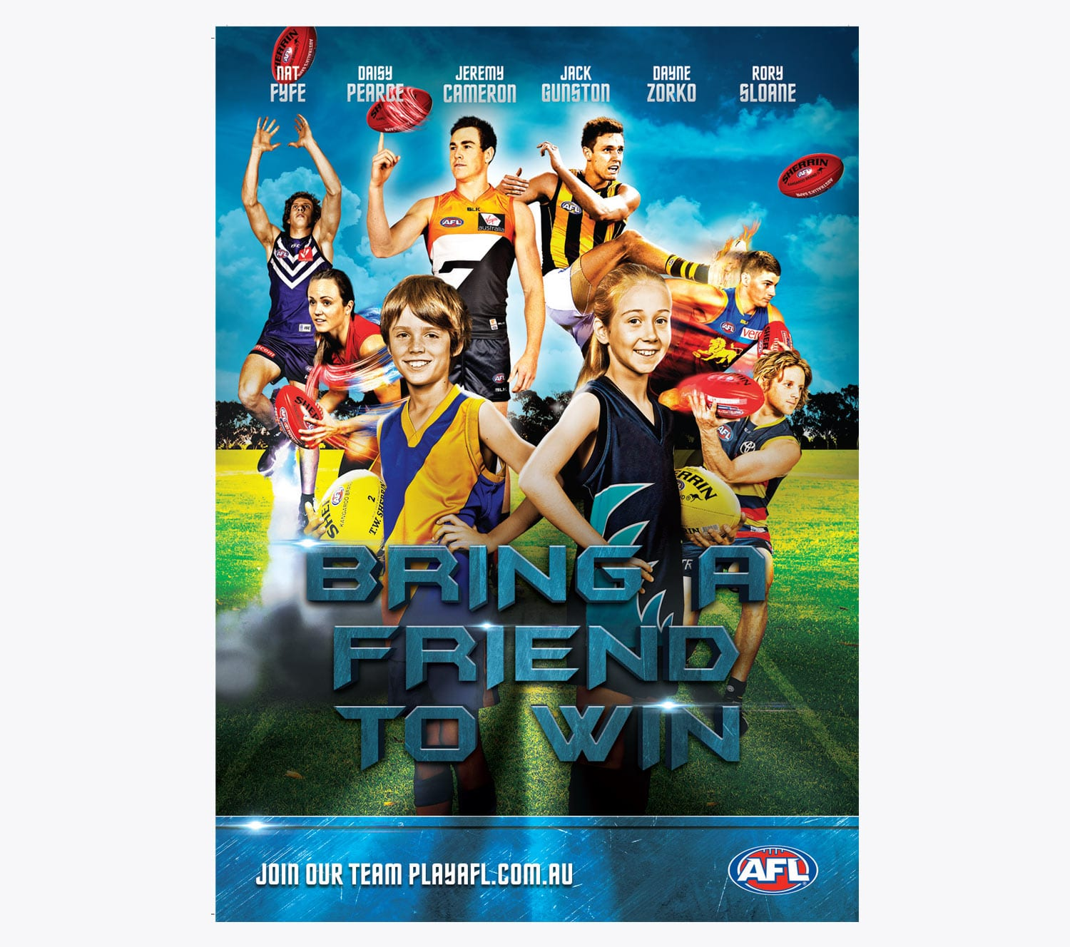 AFL Poster - Graphic Design