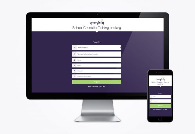 Synergistiq - Training Booking Web app