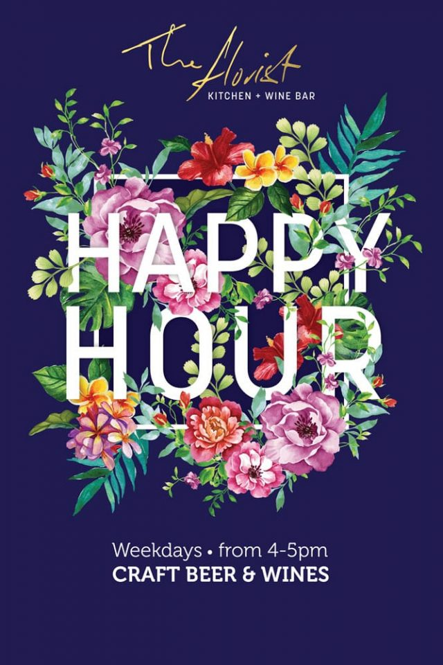 The Florist Kitchen - Happy hour