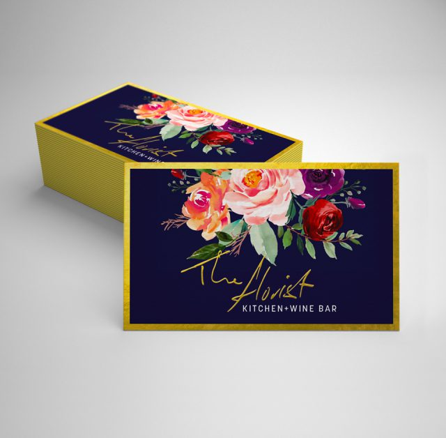 The Florist Kitchen - Business Card